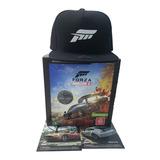 Jogo Forza Horizon 4 Xbox One Ed. Especial Boné 2 Brindes