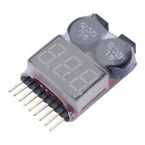 Alarme Baixa Voltagem Monitor Alarme Baterias 1s-8s