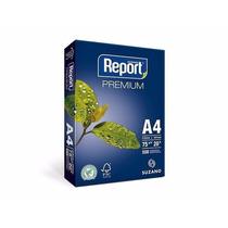Papel Sulfite A4 Branco Report - Pacote Com 500 Folhas