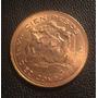 Moeda Ouro 100 Pesos Chile 10 Condores 20,32g - 1952