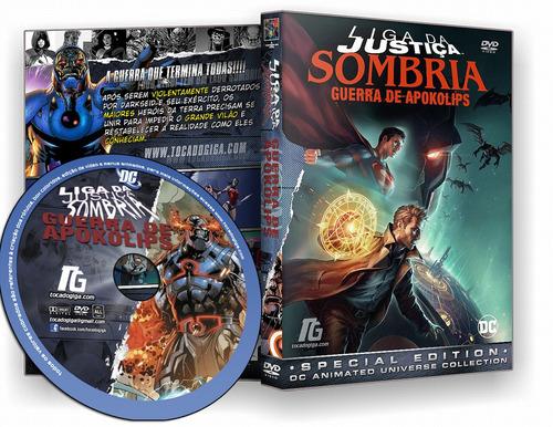 Liga Da Justiça Sombria - Guerra De Apokolips - Dark Dvd