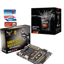 Fx-9370 Vishera 4.4ghz 8-core + Sabertooth 990fx R2.0 990fx