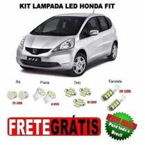 Kit Lâmpadas Leds Xenon Honda Fit - Frete Grátis