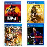 37 Jogos Ps4 Midia Digital + Conta Ps Plus (ler A Descrição)