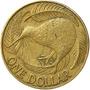 Nova Zelândia - 1 Dolar 2002