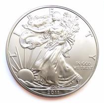 Moeda Prata American Eagle 1 Oz 2011 - Frete Grátis