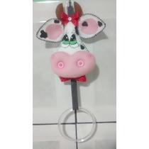 Porta Pano De Prato Em Feltro - Vaca