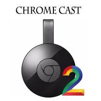 Google Chromecast 2 Hdmi 1080p Chrome Cast 2 - O Melhor!