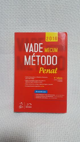 Vade Mecum Método Penal 4ª Edição 2016