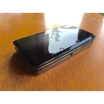 Nintendo 3ds Black + 3 Cartuchos + Cartão Sdhc 16 Gb