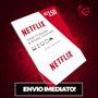 Cartão Pré-pago Netflix  Reais Presente Assinatura Original