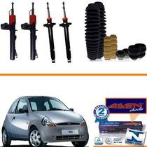 Kit 04 Amortecedores Ford Ka 2002 2003 2004 2005 2006 + Kit