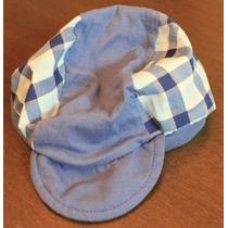 Chapéu Azul Com Xadrez - Chik Chik - Tam: G - C.123