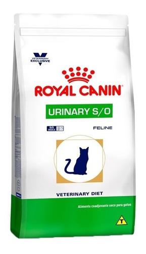 Ração Royal Canin Veterinary Urinary S/o- Gatos Adultos 7,5