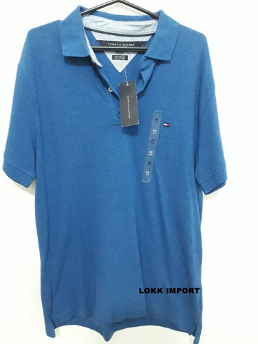 Camisa Polo Tommy Hilfiger 100% Original - Importada - Novo cef0ac74aa1