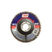 50 X Discos Flap Alo 4.1/2 X 7/8 - Grão 60 - Disflex