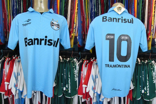 Grêmio Sul Americana 2012 Camisa Reserva Tamanho Eg   10 92f68c21d979c