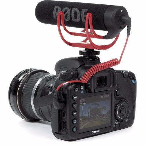 Microfone Dslr Camera Original Profissional Sony Canon Nikon