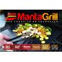 Kit 3 Manta Grill Teflon Antiaderente 40x33