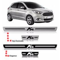Kit Soleira Resinada Porta Ford Ka 15/...