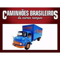Miniatura Caminhões Brasileiros O Tempos Mb L1113 Braspress