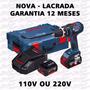 Furadeira Parafusadeira De Impacto Bosch L-boxx Gsb 14,4v-li