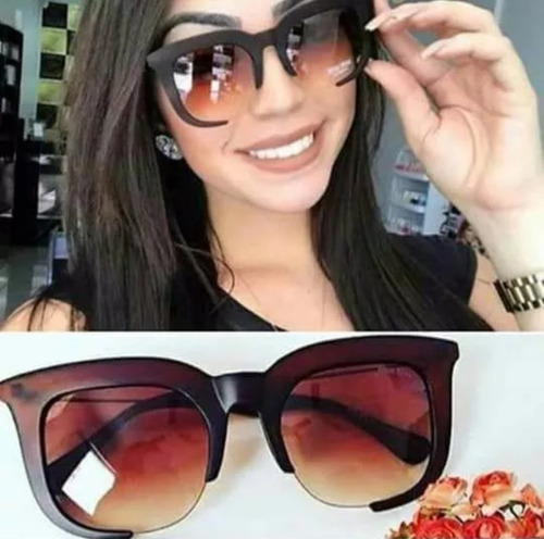 d21caf4b1a6aa Oculos De Sol Quadrado Grande Transparente Clássico
