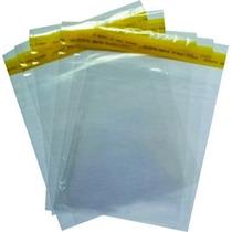 Saquinho Plástico Adesivado 500 Unid.14x20 Cm P/ Cd E Dvd