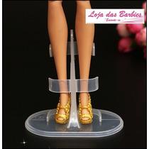 Suporte Pedestal P/ Bonecas Barbie * Blythe * Monster * Liv