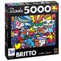 Quebra Cabeça Puzzle 5000 Peças Grow Romero Britto Garden