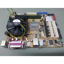 Kit Placa Mãe Asus P5gc-mx/1333 + Proc + Mem Lga775