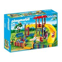 5568 Playmobil Cidade Parquinho Da Escolinha