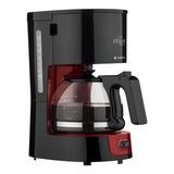 Cafeteira  Cadence Urban Compact Caf300 Preta/vermelha 220v