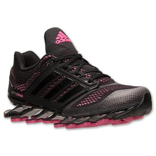 adidas springblade preto com rosa