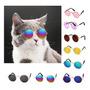 Kit Com 2 Óculos Pet Diversas Cores Cão Gato Blythe Newborn Original
