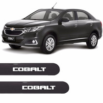 Friso Lateral Chevrolet Novo Cobalt 2016 Cinza Graphite *