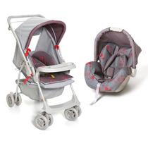 Carrinho De Bebê Milano Reversível E Bebê Conforto Picco