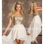 Vestido De Festa Madrinha Casamento Formatura Paetê Chiffon