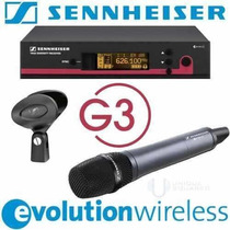 Microfone Sennheiser S/fio Ew135 G3 Original Made In Germany