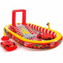 Piscina Playground Inflavel Disney Carros Infantil Intex