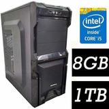 Pc Cpu  Intel Core I5 + 8gb+ 1tb + Wifi + Dvd Promoção