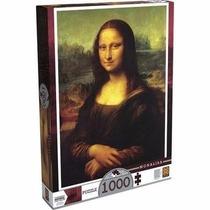 Quebra Cabeça Puzzle 1000pç Monalisa Grow
