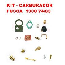Kit Carburador Fusca 1300 74/83 Solex Simples