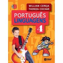 Livro Português Linguagens 4 - Editora Atual- Ens. Médio