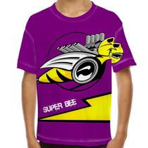Camiseta Velozes E Curiosos Super Bee Infantil