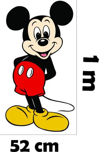 6260bb594e Adesivo De Parede Quarto Infantil Disney Mickey Minnie à venda em ...
