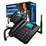 Aquário Rural Ca-40 Telefone De Mesa Sms P/ Sinal Fraco