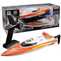 Lancha Ft009 Barco De Controle Remoto Brinquedo Presente