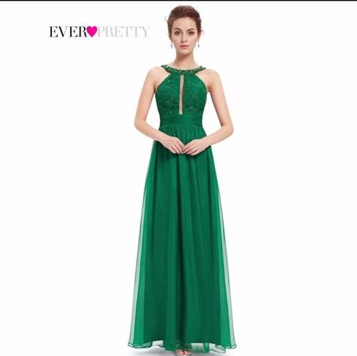 629fbab0fb Vestido Verde M Madrinha Casamento Mãe De Noiva Noivo. R  269