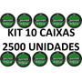 Kit 10 Caixas Chumbinho Snyper Diabolo 4.5mm 2500 Unidades
